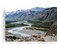 El Chalten landscape Canvas Print