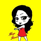 Naya Rivera Chibi (Yellow) by LexyDC
