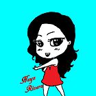 Naya Rivera Chibi (Light Blue) by LexyDC