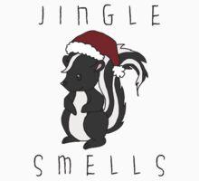 Jingle Smells One Piece - Short Sleeve