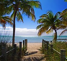 Smathers Beach, Key West by Noah Browning