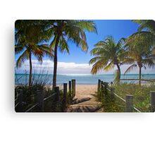 Smathers Beach, Key West Metal Print