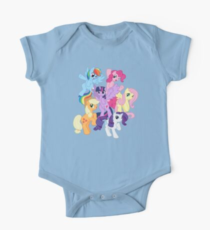 My Little Pony Group One Piece - Short Sleeve