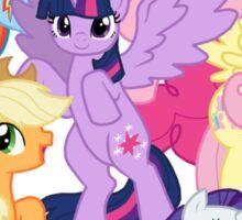 My Little Pony Group Sticker
