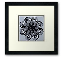 Zentangle 2 Framed Print