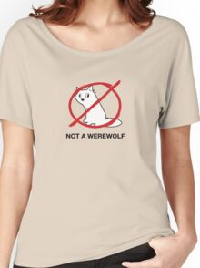 A Regular Wolf is Not a Werewolf Women's Relaxed Fit T-Shirt