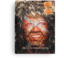 Paula Deen's two cents in Canvas Print