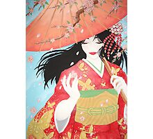 Spring Geisha Photographic Print