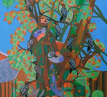 Apogee of An Apricot Tree by Denise Weaver Ross