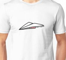 A Perfect Paper Airplane Unisex T-Shirt