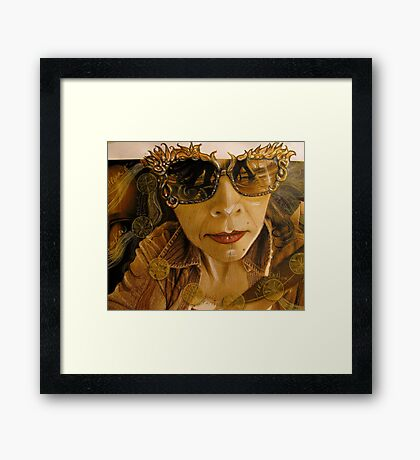 these spectacles . . . . make everything look good Framed Print