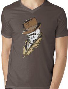 Rorschach bust Mens V-Neck T-Shirt