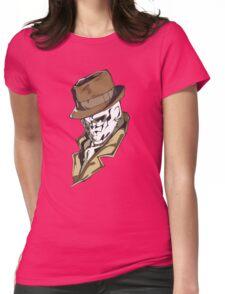 Rorschach bust Womens Fitted T-Shirt