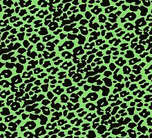 Green Cheetah  by Double-T