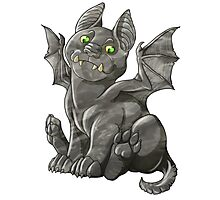 G is for Gargoyle Photographic Print