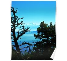 Mt. Baker View from Mt. Constitution Poster