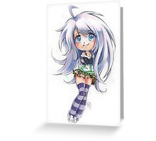 Chibi Mizore Greeting Card