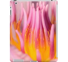 pink water lily ipad case iPad Case/Skin