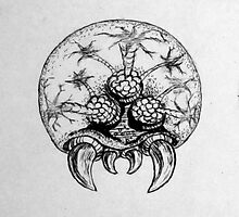 Metroid traditional Ink'd by Heriberto Martinez