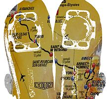 Tour De France Cycling Shoes by CYCOLOGY