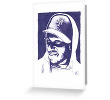 Mos Def - Pencil Portrait Greeting Card
