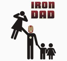 Iron Dad family Kids Clothes