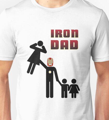 Iron Dad family Unisex T-Shirt