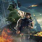 Avengers_Hulk_hawkeye by lykos1988