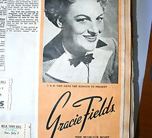 "Day 180 | 365 Day Creative Project  ""Gracie Fields"" by Robyn Williams"