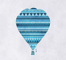 The Blue Balloon by hannahison