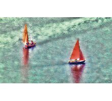Messing about on the River Photographic Print