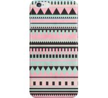 Pastel Aztec Pattern iPhone Case/Skin
