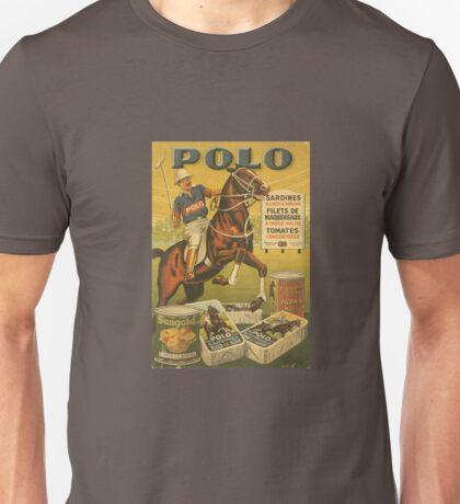 Vintage polo sports horse advertise Unisex T-Shirt