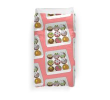 Christmas Cup Cakes Duvet Cover