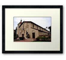 Santa Clara de Asis Mission Framed Print