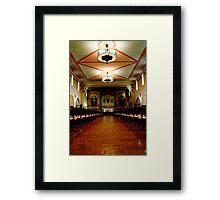Santa Clara de Asis Mission #3 Framed Print