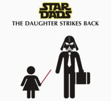 Star Dads - The Daughter Strikes Back Baby Tee