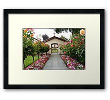 Santa Clara de Asis Mission #12 Framed Print