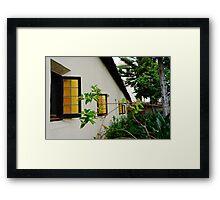 Santa Clara de Asis Mission #13 Framed Print