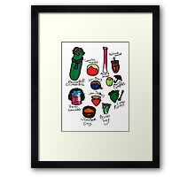 Vegelock Framed Print