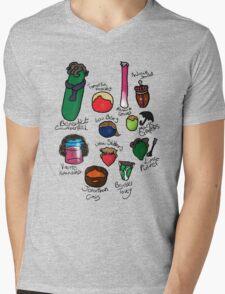 Vegelock Mens V-Neck T-Shirt