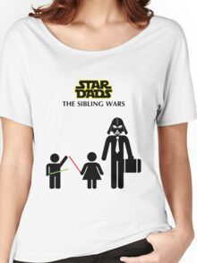 Star Dads - The Sibling Wars Women's Relaxed Fit T-Shirt
