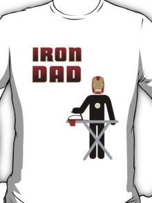 Iron Dad ironing T-Shirt