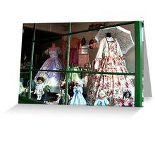 Right Shop Window, A Civil Affair Greeting Card