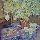 A Bouquet of Flowers by scallyart