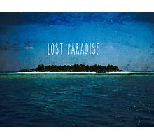 Lost paradise Photographic Print