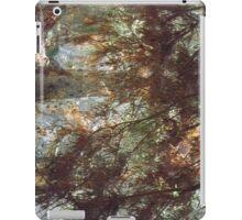 Brown leaved trees iPad Case/Skin
