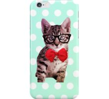 Hipster Kitty iPhone Case/Skin