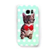 Hipster Kitty Samsung Galaxy Case/Skin