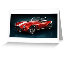 Shelby Cobra 427 - Specter Greeting Card